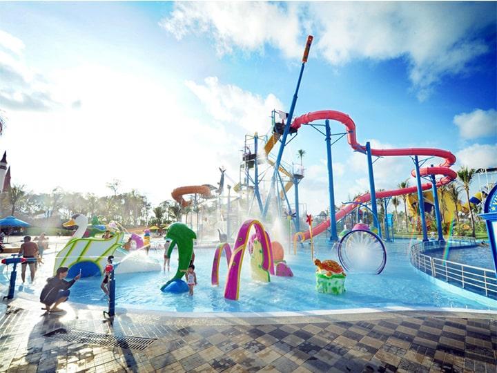 Giá vé Vinpearl Phú Quốc bao gồm cả công viên nước trong lành nữa nhé!