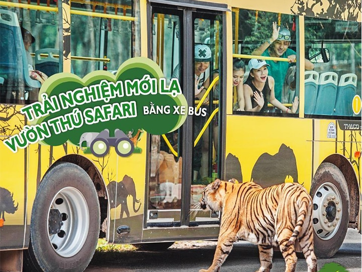 Trải nghiệm mới lạ tại Vườn thú Vinpearl Safari Phú Quốc