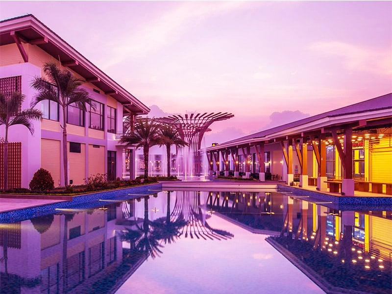 Resort Vinpearl Phú Quốc VinOasis tuyệt đẹp khi chiều buông