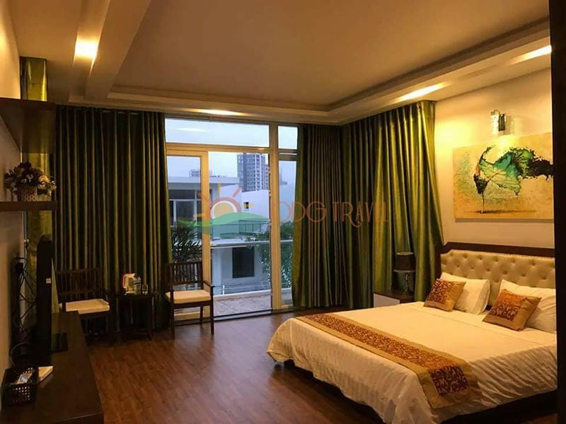 Phòng ngủ tại biệt thự FLC Sầm Sơn
