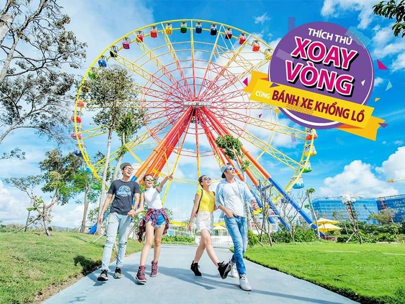 Các trò chơi ở Vinpearl Land Phú Quốc hấp dẫn như thế nào ? - Bánh xe khổng lồ