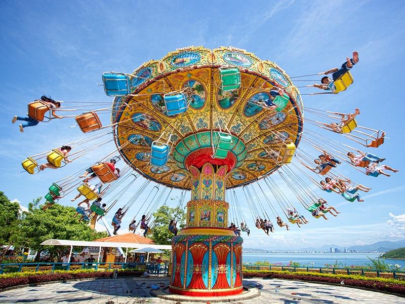 Vinpearl Land Phú Quốc co gì chơi - Trải nghiệm các trò chơi cảm giác mạnh hấp dẫn tại Khu trò chơi ngoài trời