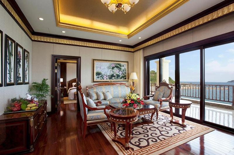 Thiết kế ấn tượng tại phòng nghỉ của Luxury Nha Trang - khu nghỉ dưỡng Vinpearl Nha Trang