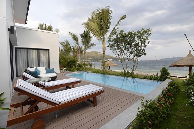 Villas xinh đẹp tại khu nghỉ dưỡng Vinpearl Nha Trang