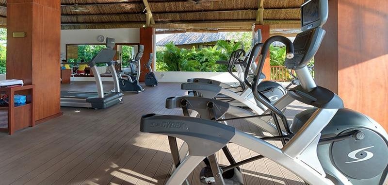 Phòng tập gym hiện đại tại khu nghỉ dưỡng Vinpearl Nha Trang