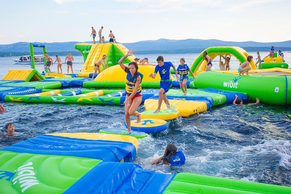 Trò chơi bãi biển tại Vinpearl Land Nha Trang - kinh nghiệm đi vinpearl land nha trang