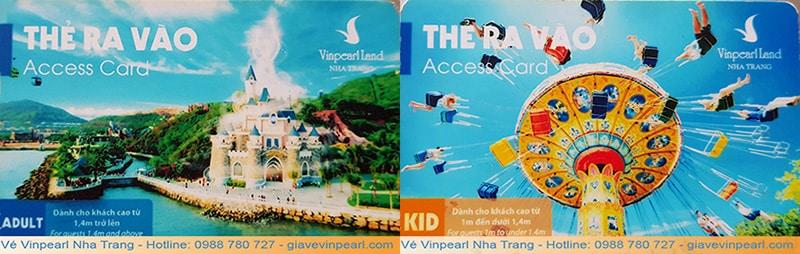 Thẻ ra vào Vinpearl Land Nha Trang - mua vé vinpearl nha trang