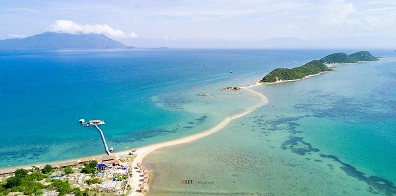 Hình ảnh đẹp tại đảo Điệp Sơn - những địa điểm du lịch ở nha trang