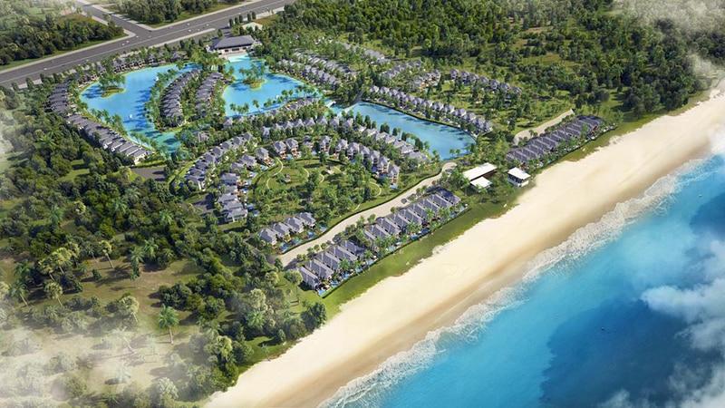 Toàn cảnh dự án Vinpearl Bãi Dài Nha Trang