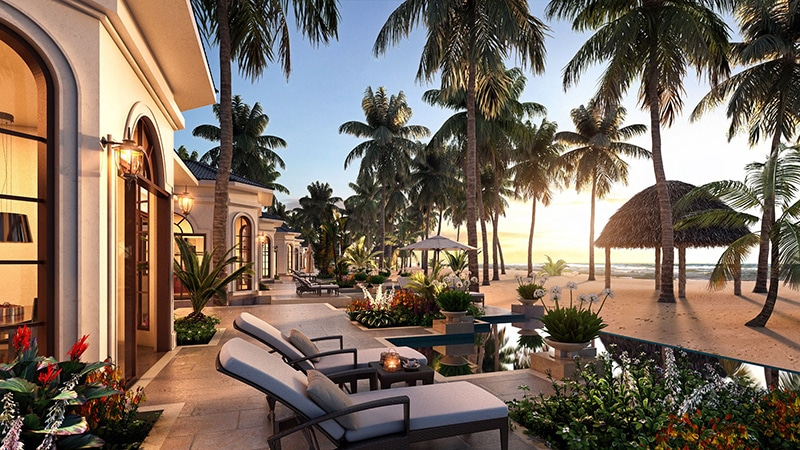 Khách sạn hiện đại và hài hòa với thiên nhiên tại Vinpearl Bãi Dài Nha Trang