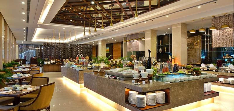 Hệ thống nhà hàng đẳng cấp quốc tế tại Vinpearl Bãi Dài Nha Trang