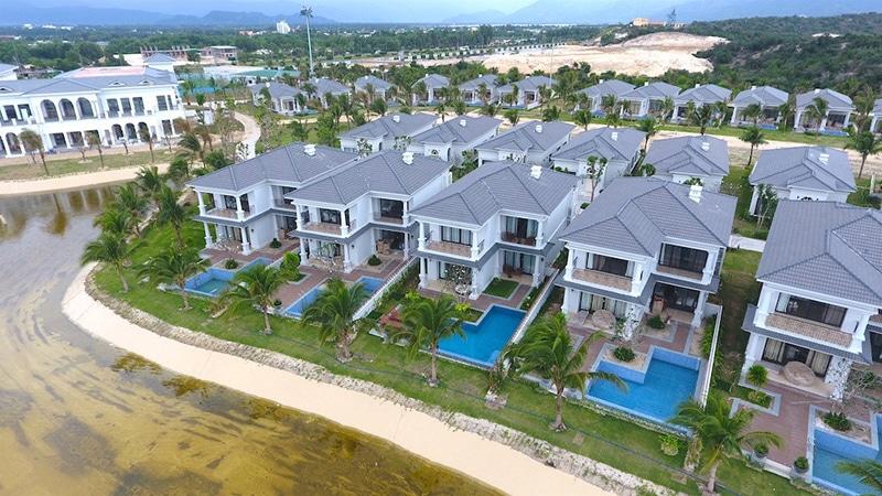 Hình ảnh thực tế hiện nay tại dự án Vinpearl Bãi Dài Nha Trang