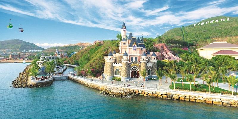 Toàn cảnh Vinpearl Land Nha Trang tại vinpearl nha trang resort