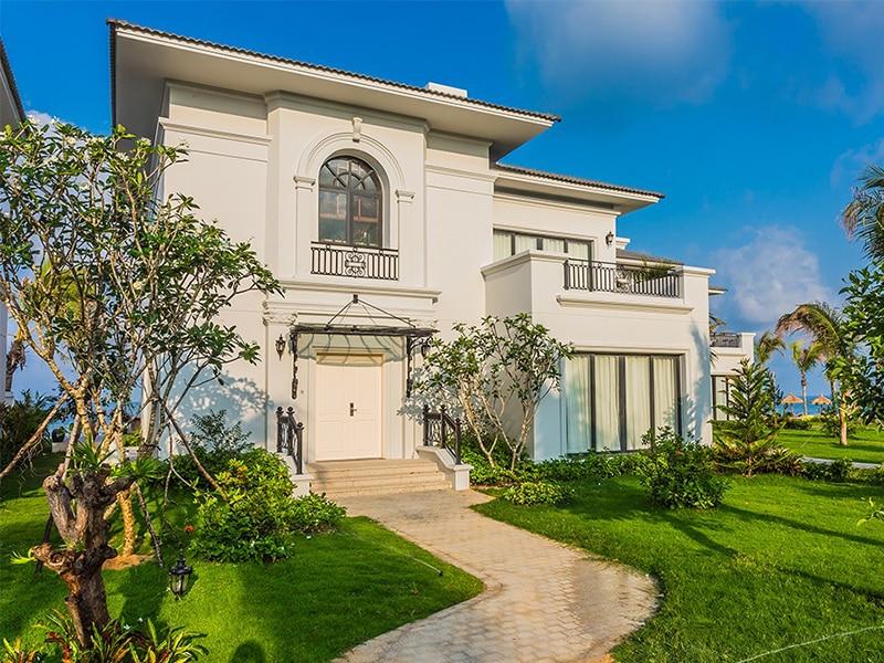 Vinpearl Phú Quốc Villa 2 phòng ngủ hướng vườn thân thiện và gần gũi với thiên nhiên.