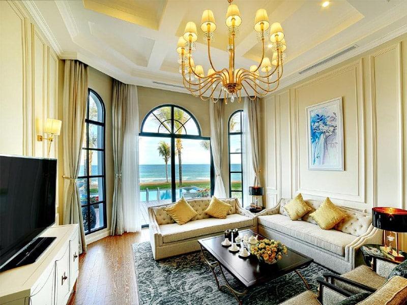 Vinpearl Phú Quốc Villa 2 phòng ngủ nổi bật với kiến trúc phòng khác cổ điển thượng lưu