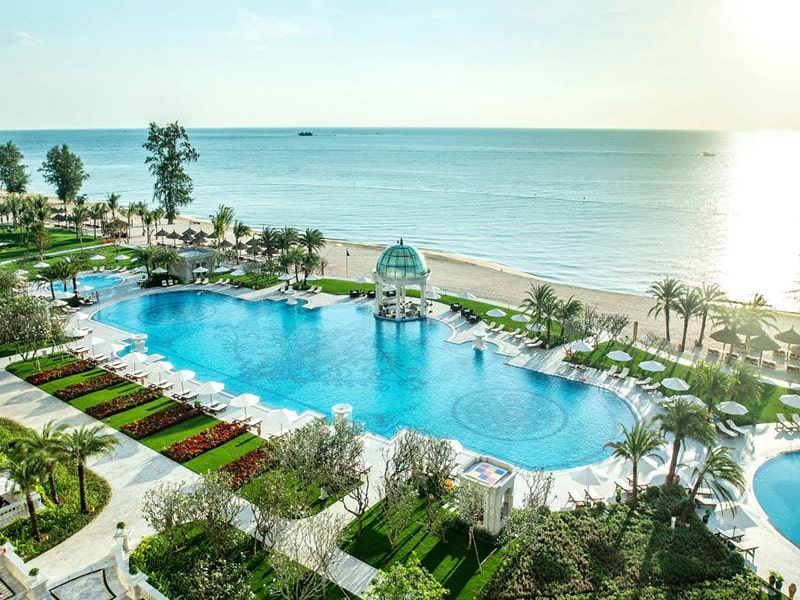 View Bãi Dài tuyệt đẹp từ Vinpearl Phú Quốc Villa 2 phòng ngủ