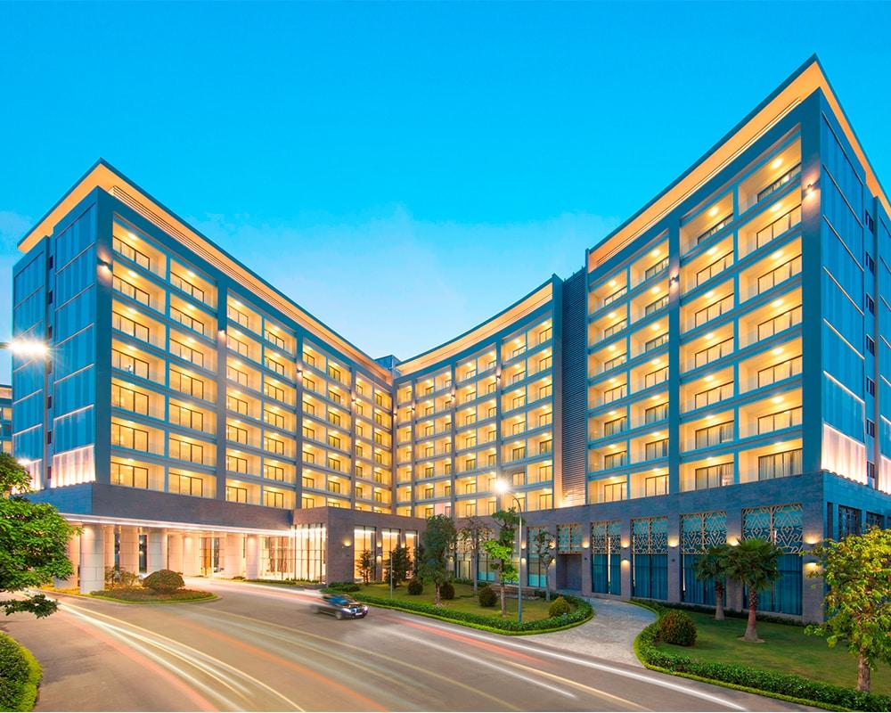 Khu khách sạn 5* cao cấp của Vinepearl Resort Phú Quốc.
