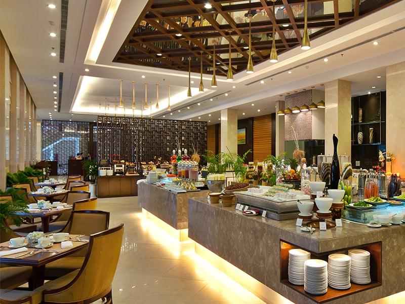 Vinpearl Phú Quốc Review -Khu vực thưởng thức buffet