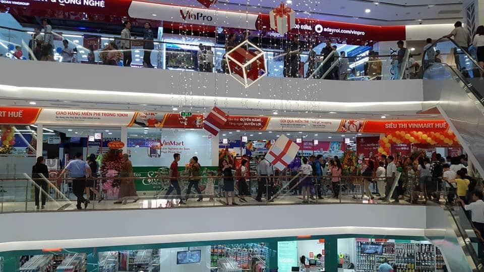 Trung tâm thương mại Vincom Huế