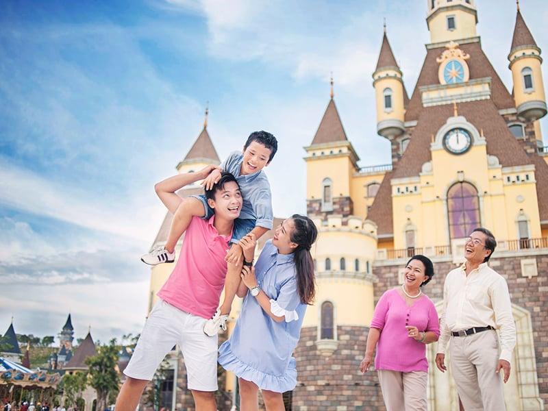 Thoải mái vui chơi tại Vinpearl Land khi lựa chọn lưu trú tại biệt thự Vinpearl Phú Quốc.