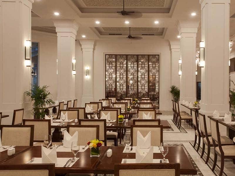 Nhà hàng kiểu Âu sang trọng tại Vinpearl Phú Quốc Resort & Villas