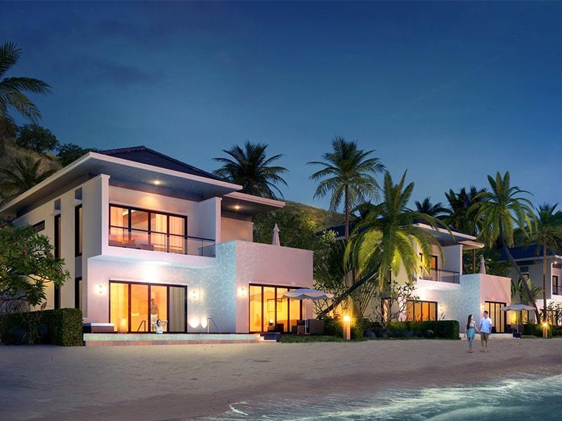 Vinpearl Phú Quốc Resort & Villas sang trọng nhưng vẫn gần gũi với thiên nhiên.