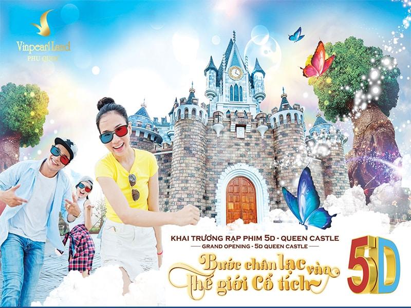 Miễn phí vé tham quan Vinpearl Land khi lưu trú tại Vinpearl Phú Quốc Villa 4 phòng ngủ
