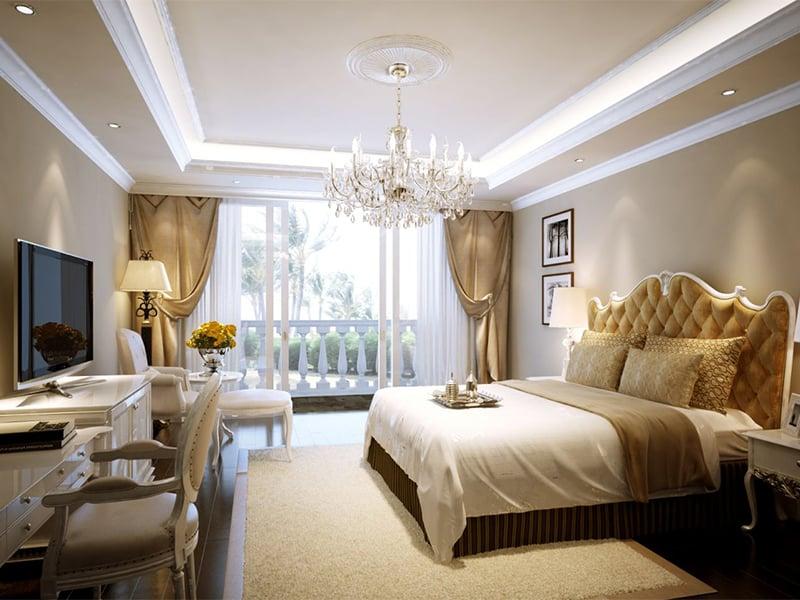 Voucher Vinpearl Phú Quốc - phòng ngủ ấm cúng.