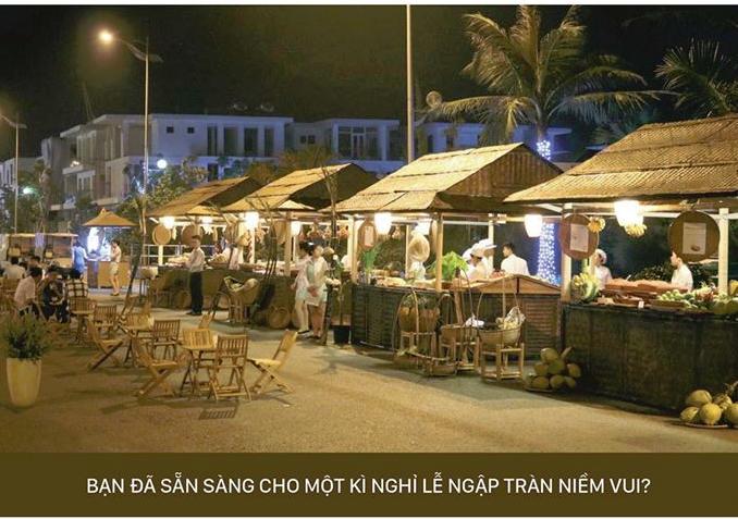 Chợ đêm FLC Sầm Sơn
