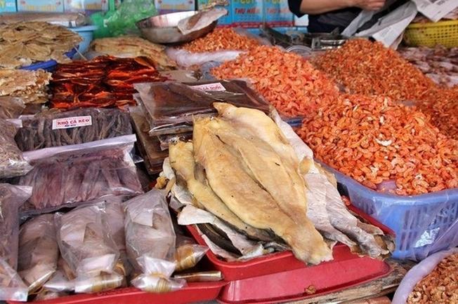 hải sản khô phú quốc