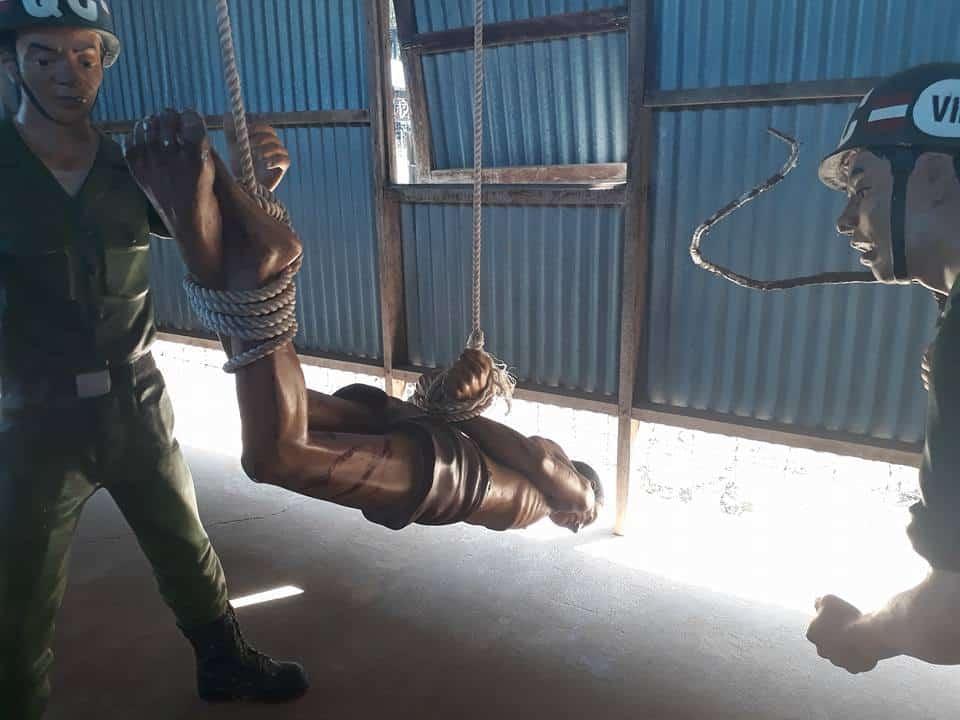 hình thức tra tấn ở nhà tù phú quốc