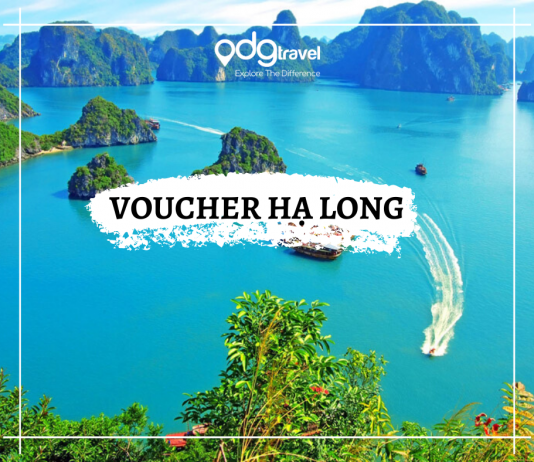 voucher hạ long