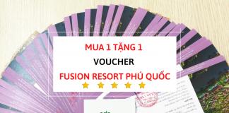 Voucher Fusion Resort Phú Quốc